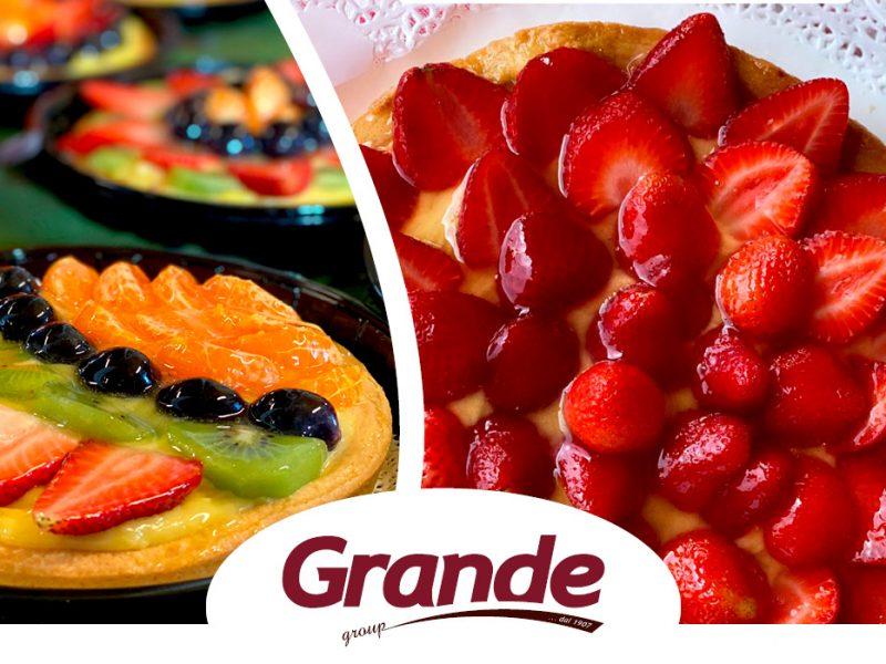 Grande Group - Crostata di frutta fresca di primavera